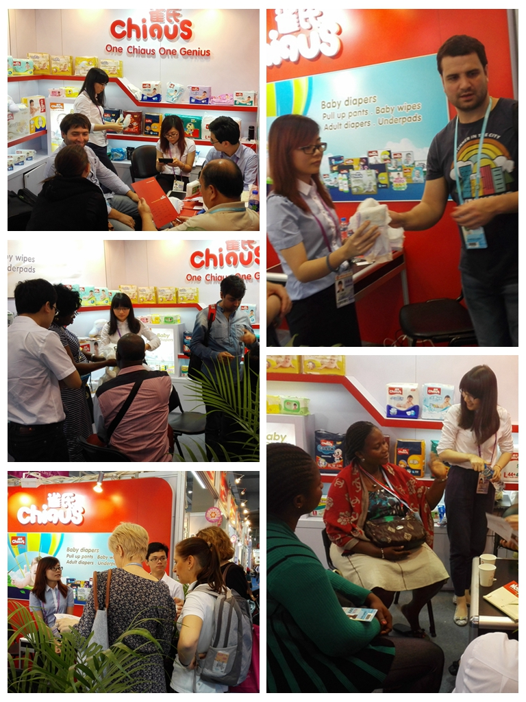 Chiaus brand baby diaper manufacturer China